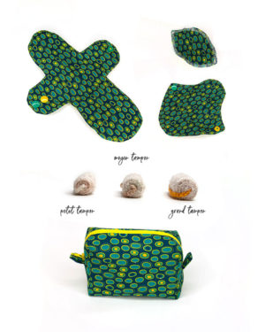 pack Dyonisos SHL labia protège-culotte tampon pochette