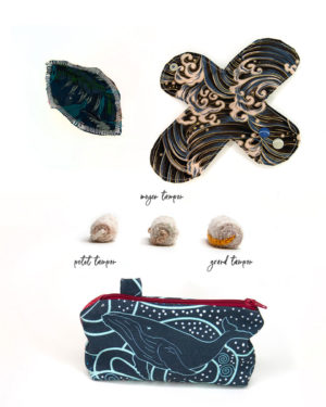 pack Poseidon SHL+labia+tampon+pochette
