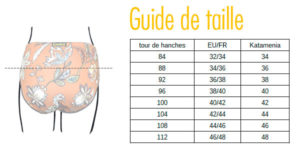 guide tailles femme